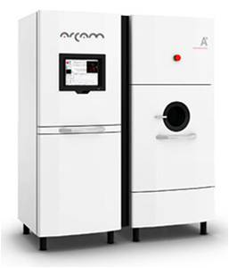 ARCAM A1 machine.  The Grenoble machine is the first EBM academic machine in France